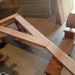 Casaviva: particolari costruzione carpenteria in legno