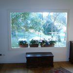 Casaviva: particolari interni, finestra sul giardino