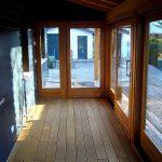 Casaviva: particolari interni, veranda